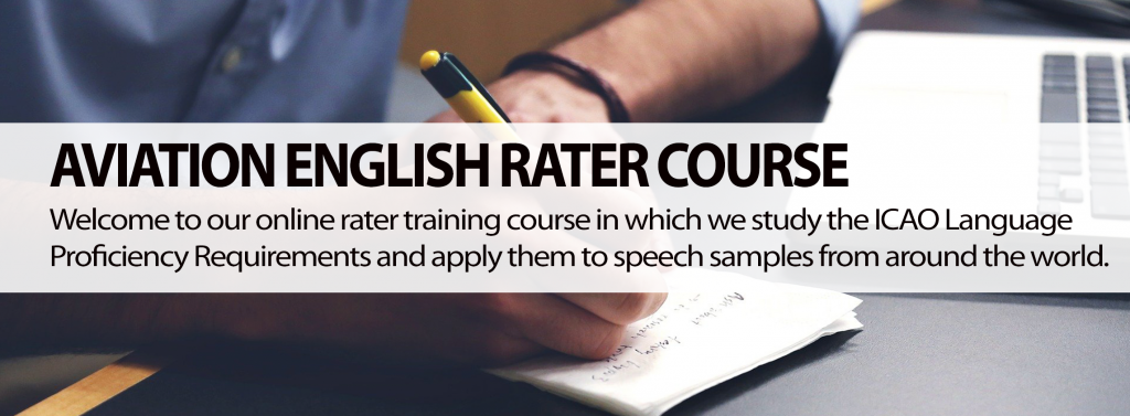 Aviation English Rater Course